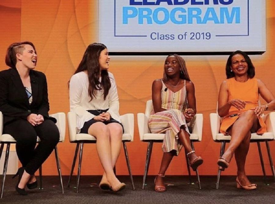 panel with Condi Rice